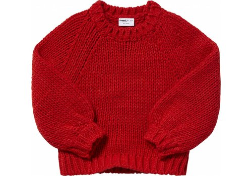 Maed for mini Maed for mini Knit sweater spicy parrot