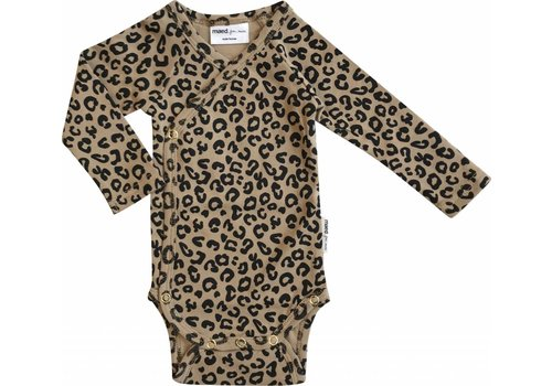 Maed for mini Maed for mini Wrap body brown leopard aop