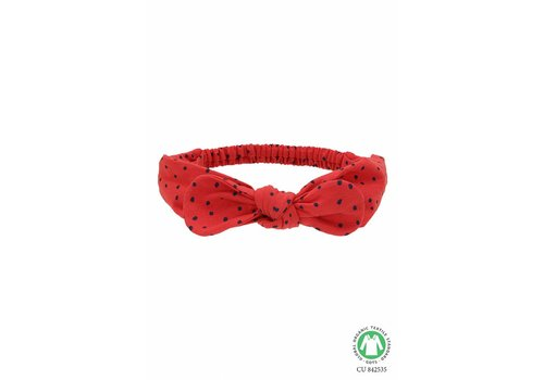 Soft gallery Soft Gallery haarband bow red mini dots