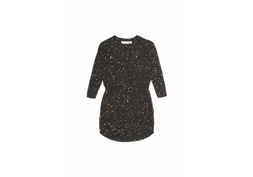 Soft gallery Soft Gallery Dress vigdis jet black flakes gold