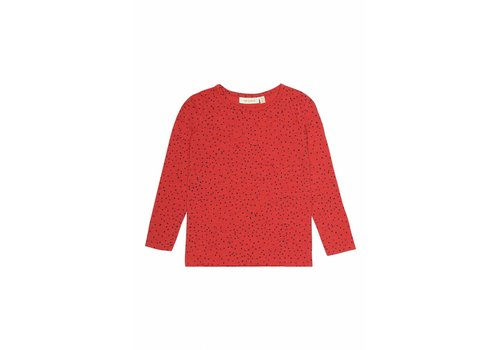 Soft gallery Soft Gallery Longsleeve beverly mars red mini dots