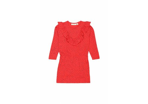 Soft gallery Soft Gallery Dress bea mars red mini dots