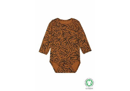 Soft gallery Soft Gallery Bodysuit tiger small buckthorn brown