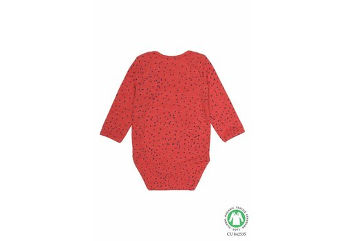 Soft gallery Soft Gallery Bodysuit mars red mini dots
