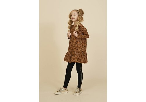 Soft gallery Soft Gallery Dress autumn tiger smal buckthorn brown