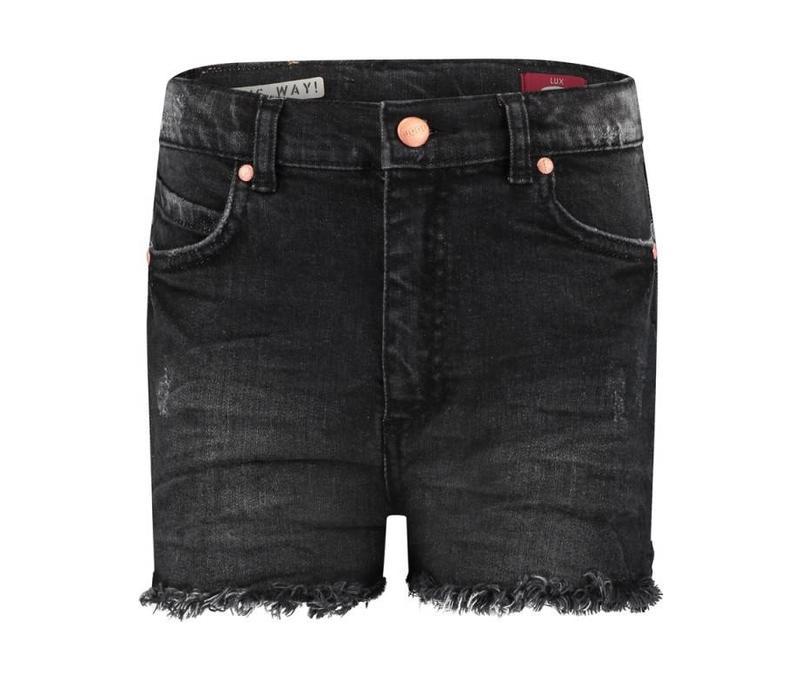 Boof short jeans lux girls grey/black