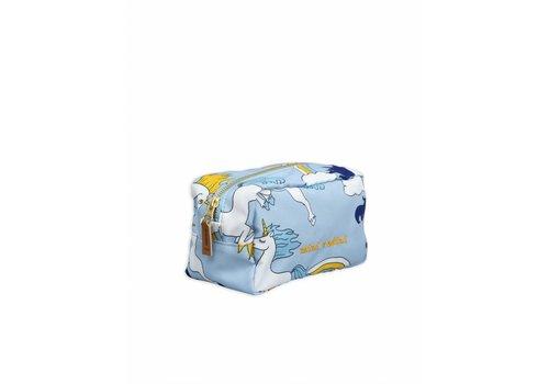 Mini Rodini Mini Rodini toilettasje unicorn light blue