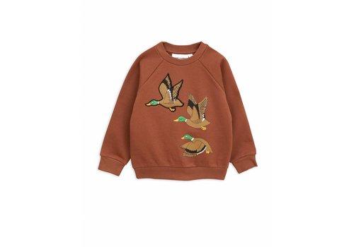 Mini Rodini Mini Rodini Sweatshirt duck brown