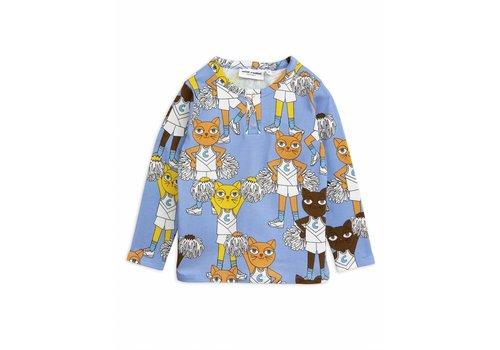 Mini Rodini Mini Rodini cheercats grandpa blue