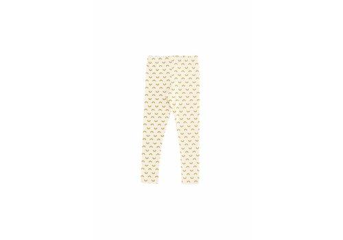 Tiny Cottons Tiny Cottons Pants semicircles beige/mustard