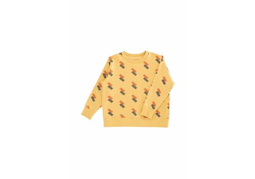 Tiny Cottons Tiny Cottons sweatshirt fleece domino