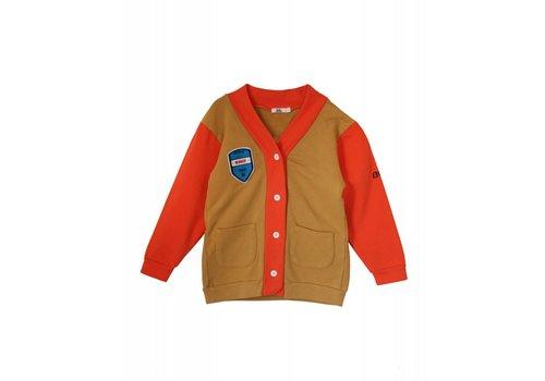 Bandy Button Bandy Button rusty cardigan