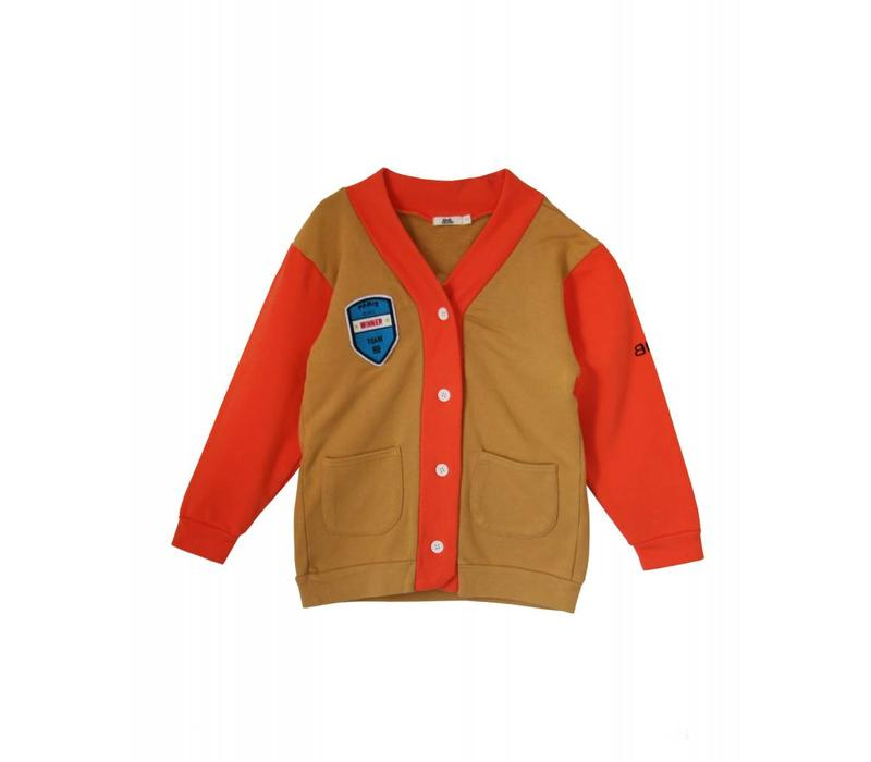 Bandy Button rusty cardigan
