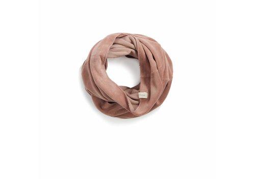 Phil & Phae Phil & Phae infinity scarf velvet dusty blush
