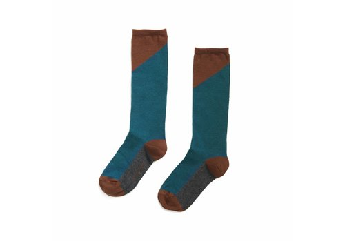Phil & Phae Phil & Phae Knee socks deep teal