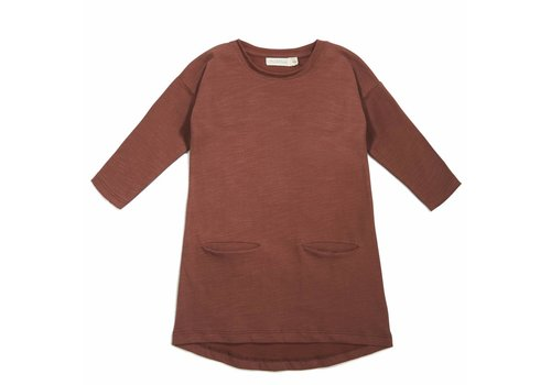 Phil & Phae Phil & Phae Pocket dress russet
