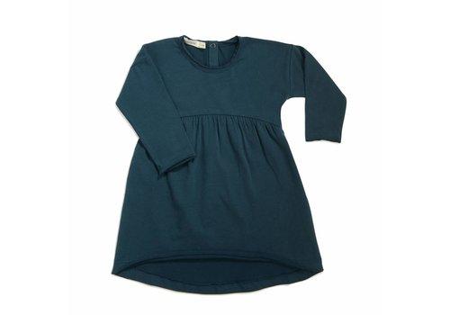 Phil & Phae Phil & Phae Drop-shoulder dress deep teal