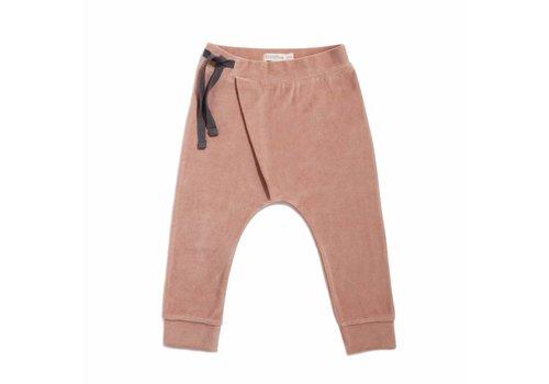 Phil & Phae Harem pants velvet dusty blush