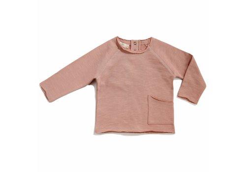 Phil & Phae Phil & Phae Raw edged sweater dusty blush