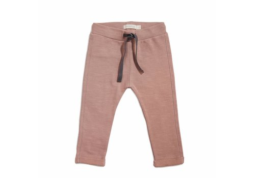 Phil & Phae Phil & Phae Sweat pants slub dusty blush