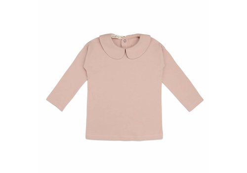 Phil & Phae Phil & Phae Kids collar tee blush