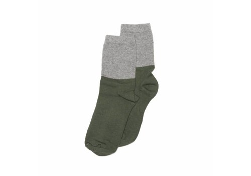 Mingo Mingo Sock grey/duck green