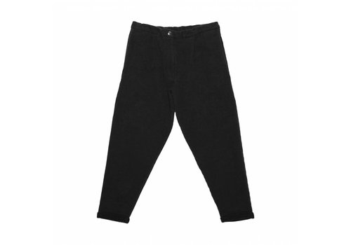 Mingo Mingo Cropped chino black