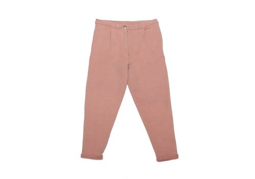Mingo Mingo Cropped chino raspberry