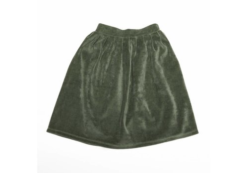 Mingo Mingo Skirt velvet duck green