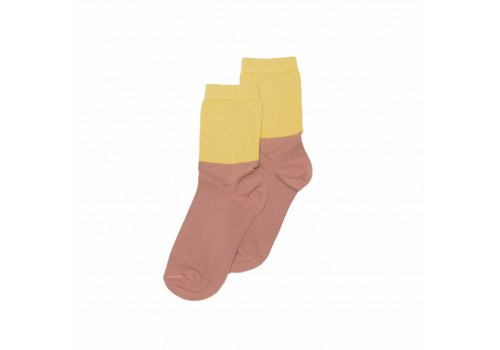 Mingo Mingo Socks raspberry and sauterne