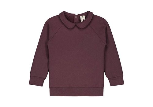Gray label Gray Label collar sweater plum