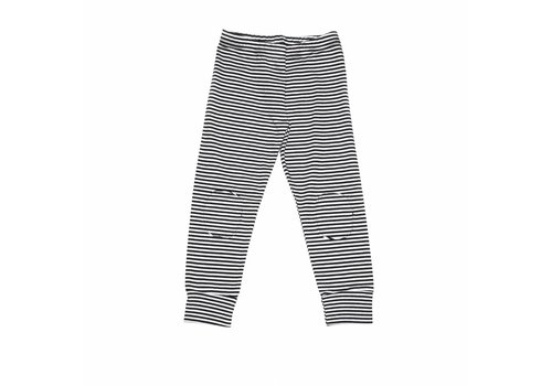 Mingo Mingo Winter legging b/w stripes