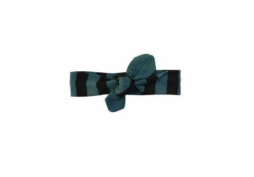 Sproet & Sprout Sproet & Sprout haarband black/forrest green stripe