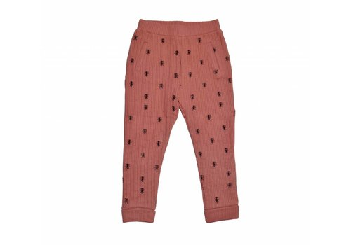 Sproet & Sprout Sproet & Sprout knit pants ants allover dark cedar