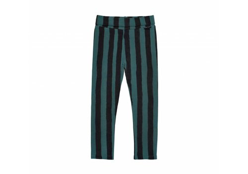 Sproet & Sprout Sproet & Sprout legging skinny black/forrest green stripe
