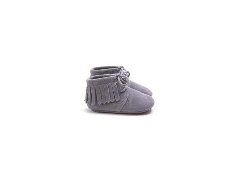 Mockies Mockies boots fringe grey