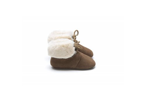 Mockies Mockies boots fur brown
