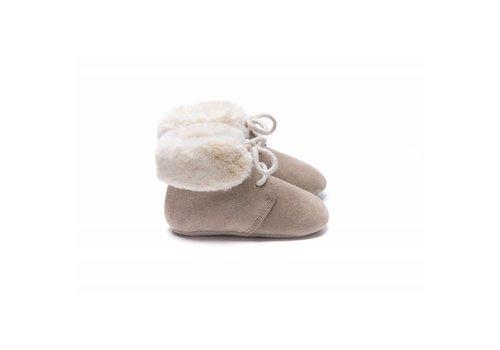 Mockies Mockies boots fur beige