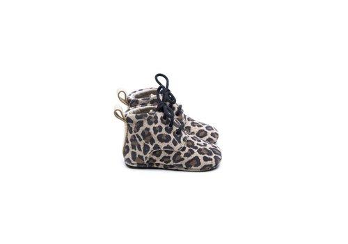 Mockies Mockies boots classic leopard gold