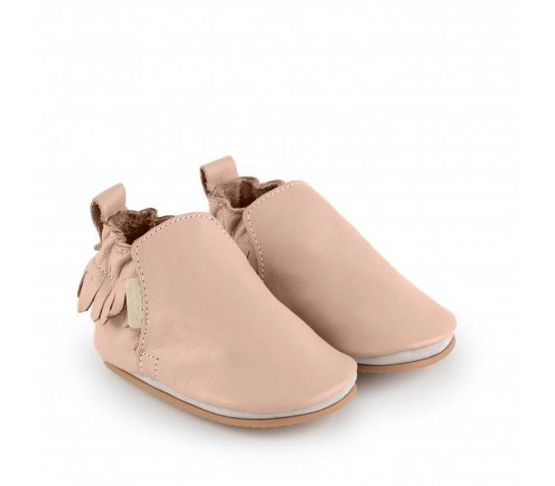 Boumy Bao Pastel pink leather