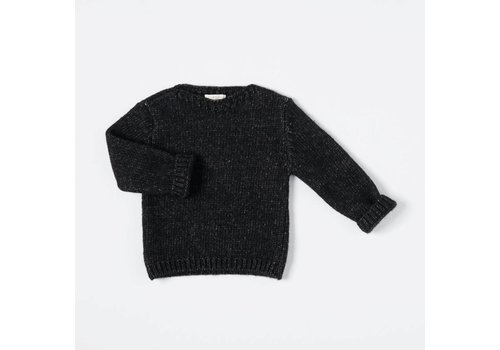 Nixnut Nixnut Wooly sweater grey black
