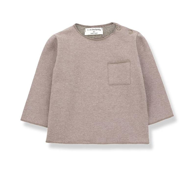 1 + in the family  oriol t-shirt rose