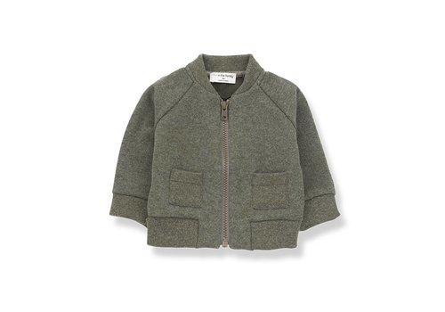 1 + in the family 1 + in the family robin fleece jacket khaki