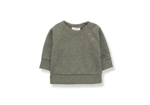 1 + in the family 1 + in the family mandy sweatshirt fleece khaki