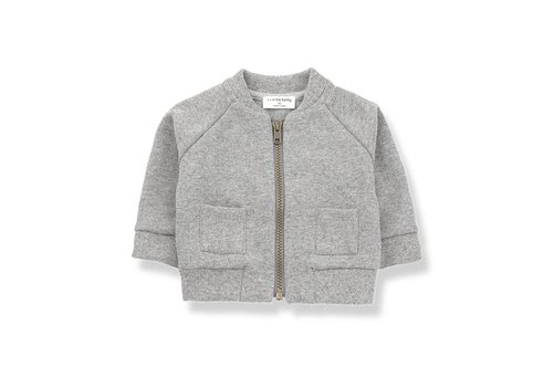 1 + in the family 1 + in the family robin fleece jacket light grey