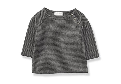 1 + in the family 1 + in the family eneko t-shirt anthracite/grey