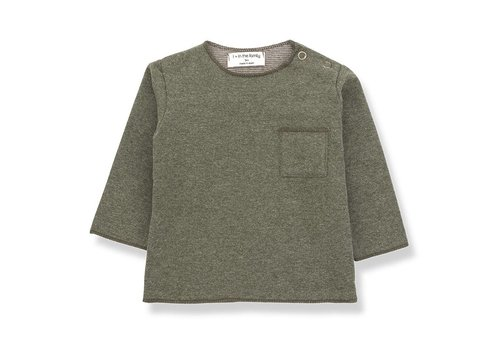 1 + in the family 1 + in the family  oriol t-shirt khaki