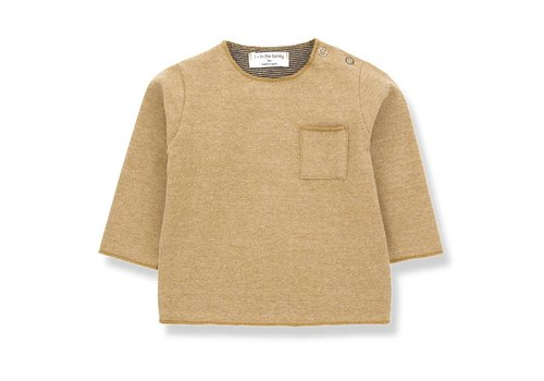 1 + in the family 1 + in the family  oriol t-shirt ochre