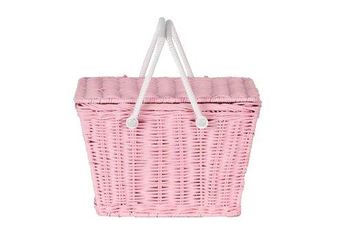 Olli Ella Olli Ella piki picnic basket pink