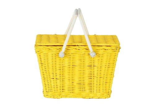 Olli Ella Olli Ella piki picnic basket yellow